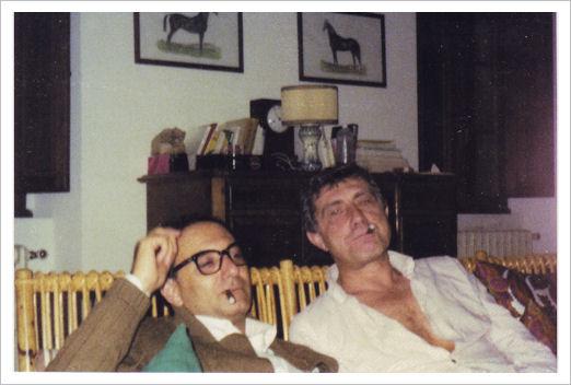 Agostino Pirella e Franco Basaglia - Arezzo 1975